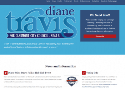 Political Campaign – City Council
